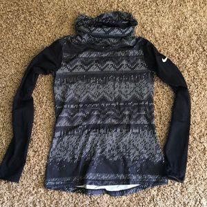Nike pro dri-fit long sleeve cowl/turtle neck